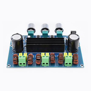 Image 4 - UNISIAN Bluetooth 5.0 TPA3116 2.1 Audio Power Amplifier Board 50Wx2+Bass 100W TPA3116D2 HIFI Digital 2.1 Chennels Home Amplifier