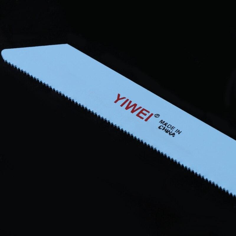 RRI/Hoja de sierra rec/íproca BIM S1122AF de 5 piezas 227 mm 9para cortar madera y metal