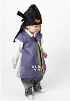 South Korea Imported Fabrics for Boys' First Birthday Korean Clothing/upscale Children's New Korean Clothing /hanfu Boy Clothes