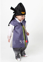 South Korea Imported Fabrics for Boys' First Birthday Korean Clothing/upscale Children's New Korean Clothing /hanfu Boy Clothes