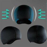 Nem Esneklik Soğutma Kafatası Kapağı Iç Astar Kask Bere Kubbe Kapağı Ter Bandı Hızlı Kuru Nefes Şapka Kask Kir bisiklet kaskı|Kasklar|   -