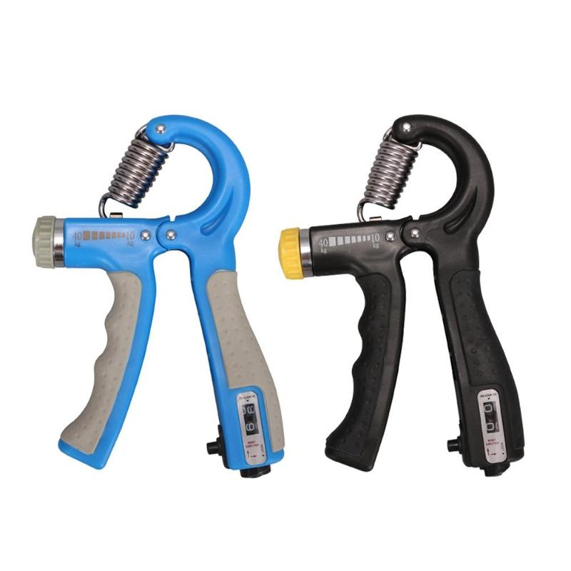 10-40kg Adjustable Heavy Gripper Hand Grip Strengthener Gym Power Fitness Exerciser Wrist Strength Training Spring Expander