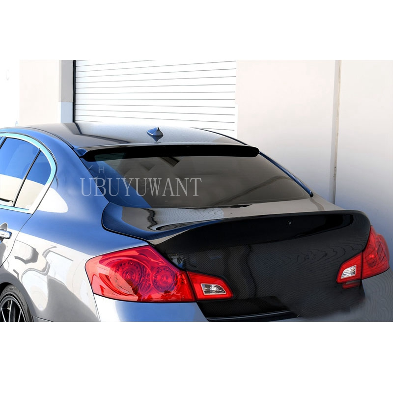 Painted G35 G37 V35 Window Rear Roof Lip Spoiler Wing 05-06 §