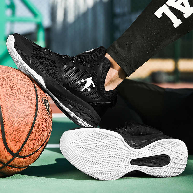 Orijinal marka basketbol ayakkabıları erkekler için yetişkin hava yastığı eğitim Sneakers erkek ayakkabı Retro Tenis nefes Retro ayakkabı