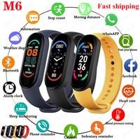 M6 Smart Bracelet Watches Men Women Smart Watch Heart Rate Fitness Tracking Sports Bracelet For Apple Xiaomi Android Smartwatch 1