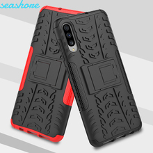 Case For Samsung A70 Cover Silicone Soft TPU + PC Heavy Duty Armor Case For Samsung Galaxy A70 SM-A705F/DS SM-A705FN/DS Cases for samsung galaxy a70 case heavy duty hard rubber silicone phone case cover for samsung galaxy a70 case for galaxy a70 case