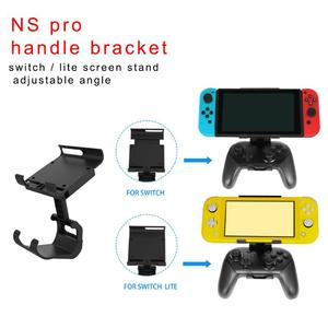 Image 5 - Adjustable Handle Clamp Mount Holder for Nintend Switch/Lite Controller Handle Clip Gamepad Bracket For Switch Accessories