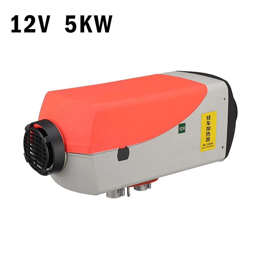 Riscaldatore ad aria Diesel 12v 5KW Ventilatore Riscaldamento Riscaldamento Dell'automobile di Rimozione della Neve e di Vetro Auto Sbrinatore Con Display LCD + a distanza di Controllo Silenziatore - 3