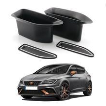 LFOTPP dla Leon MK3 Leon Cupra 5F 2017 2018 2019 poręcz frontowe drzwi samochodu sortuj schowek akcesoria do wnętrz samochodowych 2 sztuk
