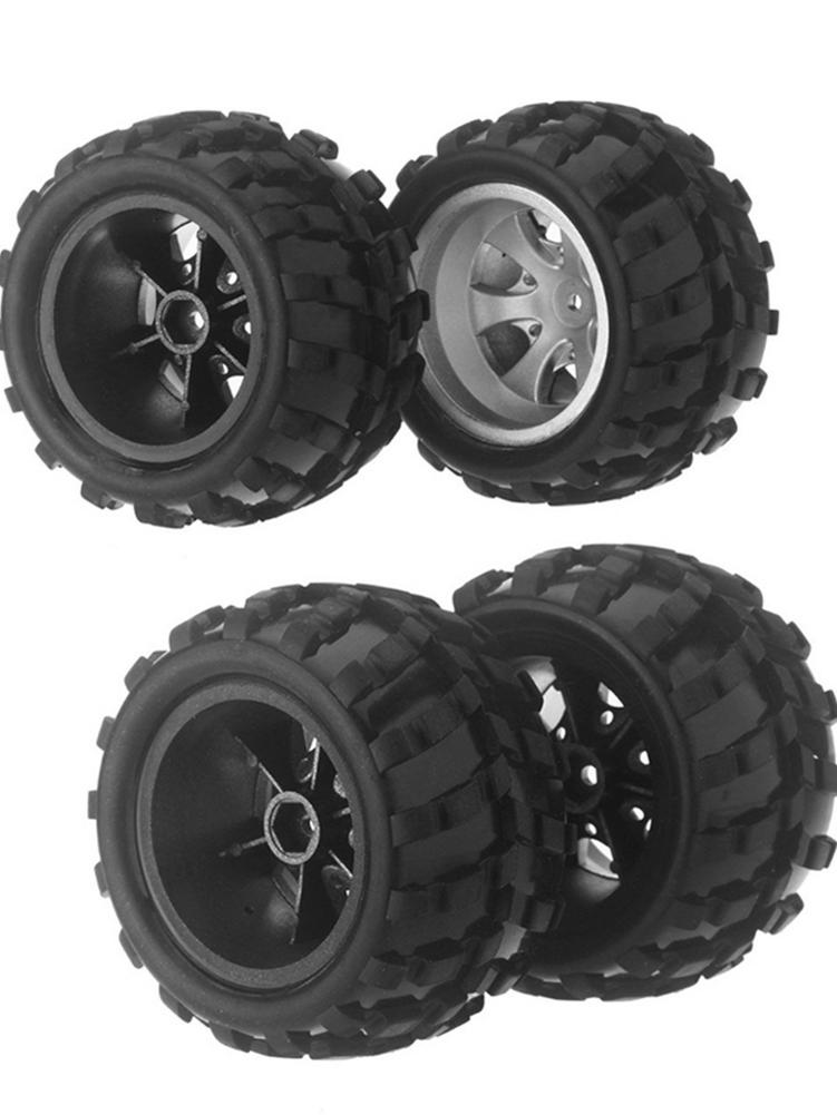 Remote Control Car Parts Tire RC Car Tires Rubber Mini Tire Set Wheel Rim Tyre Accessories For WLtoys A979 A979-B A979-A A979-02