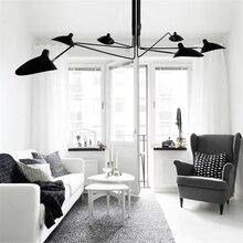 Nordique LOFT LED plafonniers en métal salon plafonnier salle à manger décor Lustre suspendus luminaires décorations dintérieur