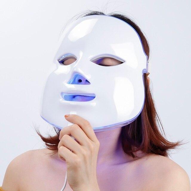 Светодиодная терапевтическая маска Foreverlily, световая маска для лица, фотонная светодиодная маска для лица, Корейская светодиодная маска для ...