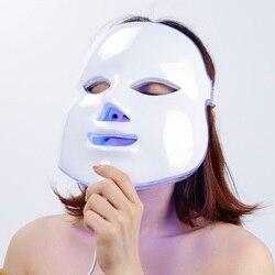 Foreverlily Led Maschera di Terapia Della Luce Viso Maschera Terapia Photon Led Maschera Per Il Viso Coreano Cura Della Pelle Maschera Led Terapia