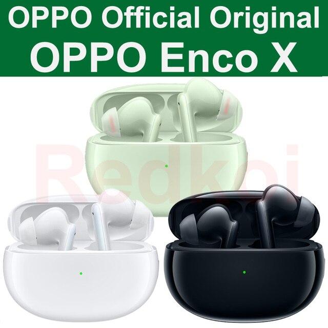 OPPO Enco X Enco Giá Rẻ TWS Thật Wirelss Nhạc Stereo Tai Nghe Tai Nghe Rảnh Tay Tai Nghe Cho OPPO Realme Vivo mi Huawei Honor