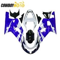 For 2001 2003 SUZUKI GSXR600 GSXR750 K1 01 02 03 GSXR GSX R 600 750 Motorcycle Complete Fairings Kit Full Body Kit