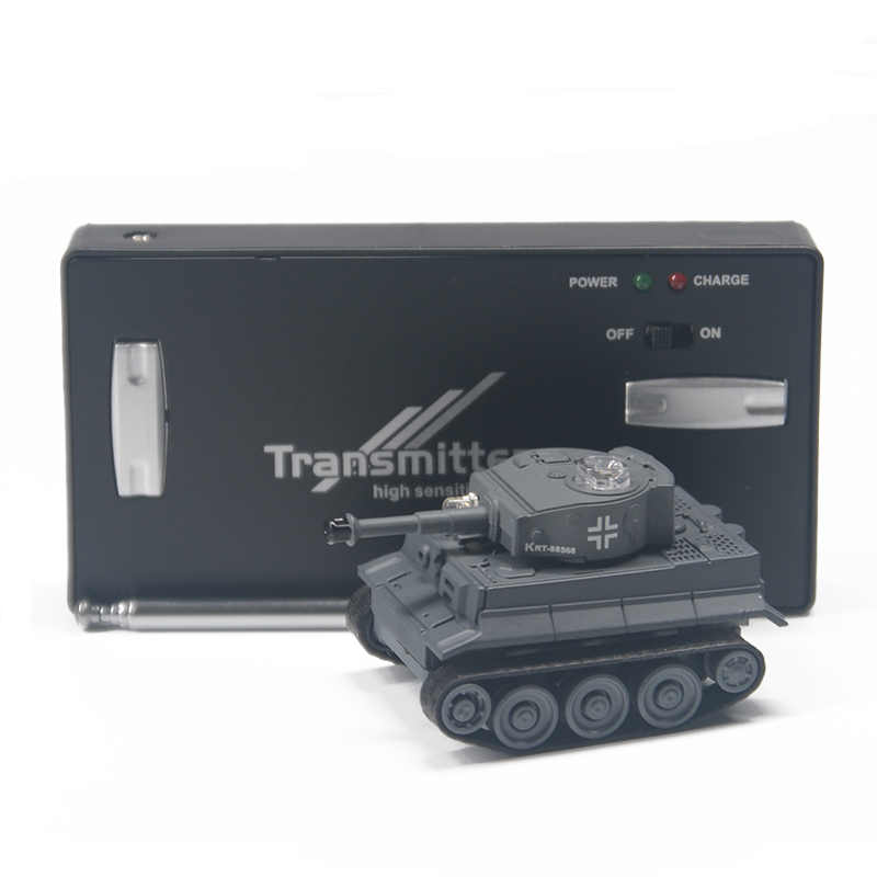 Mini RC tankı araba radyo uzaktan kumanda mikro tankı 4 frekanslı oyuncak çocuklar için hediyeler RC modelleri