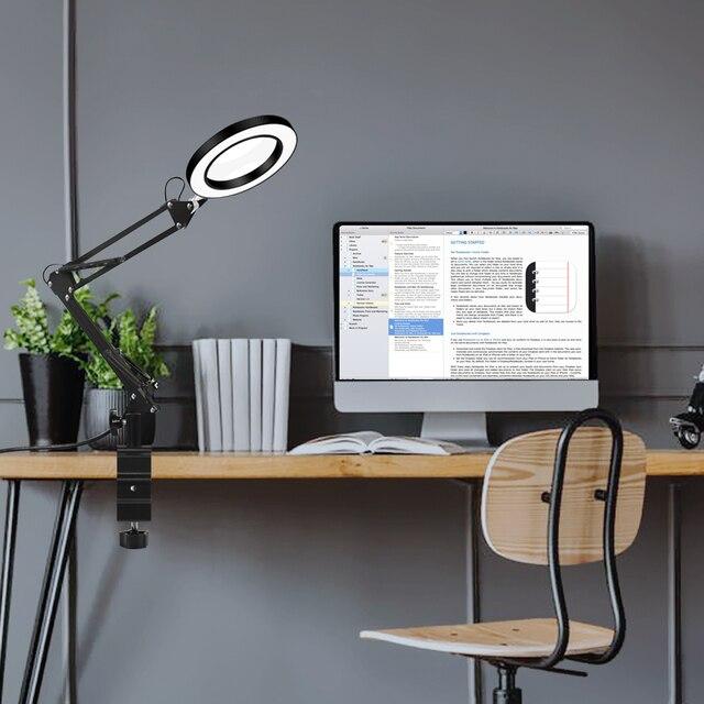 Купить usb лупа newacalox 5 шт со светодиодный ной подсветкой картинки цена