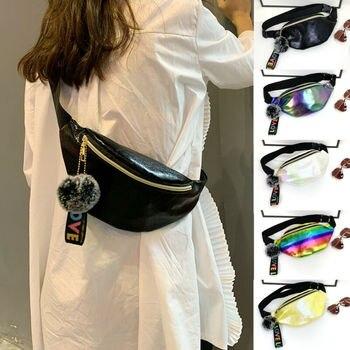 Women Girls Waist Fanny Pack Belt Bag Pouch Hip Bum Bag Travel Sport Small Purse