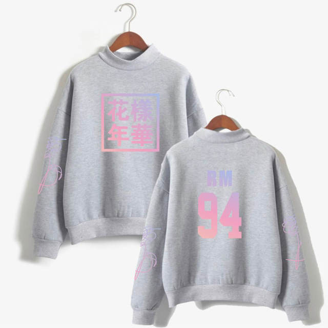 LOVE YOURSELF THEMED SWEATSHIRT (21 VARIAN)