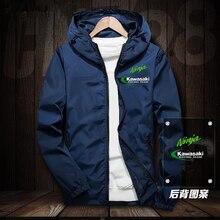 Подходит для мотоцикла для Kawasaki куртка ниндзя толстовки Повседневная мужская толстовка на молнии мужская Толстовка спортивный костюм куртка