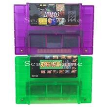 Super 110 em 1/102 in1 novo jogo de vídeo turtls mega man para 16bit 46 pinos ntsc console com placa vídeo cartucho compilação
