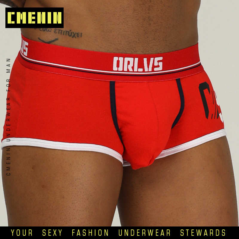 Höschen CMENIN Baumwolle Komfortable Sexy Männer Unterwäsche Boxer Shorts Beliebte Lange boxer Herren Boxershorts Under Boxer Homosexuell OR189