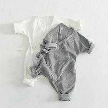 Newborn Baby Boy Girl Clothes Angel Wings Romper Jumpsuit Ni