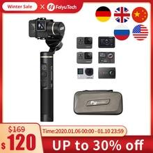 FeiyuTech G6 3 แกน Splashproof Gimbal สำหรับ Update Version W Fi + บลูทูธ OLED หน้าจอสำหรับ GoPro HERO 7 6 5 SONY RX0 Action กล้อง