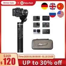FeiyuTech G6 用 3 軸防滴更新バージョンの W fi + Bluetooth OLED 画面移動プロヒーロー 7 6 5 ソニー RX0 アクションカメラ