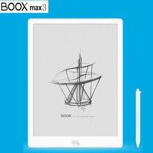 جهاز لوحي جديد موديل BOOX MAX3 قارئ كتب إلكتروني أول أندرويد 9.0 13.3 بوصة قارئ إلكتروني 4G/64G Type C (دعم OTG) حبر إلكتروني