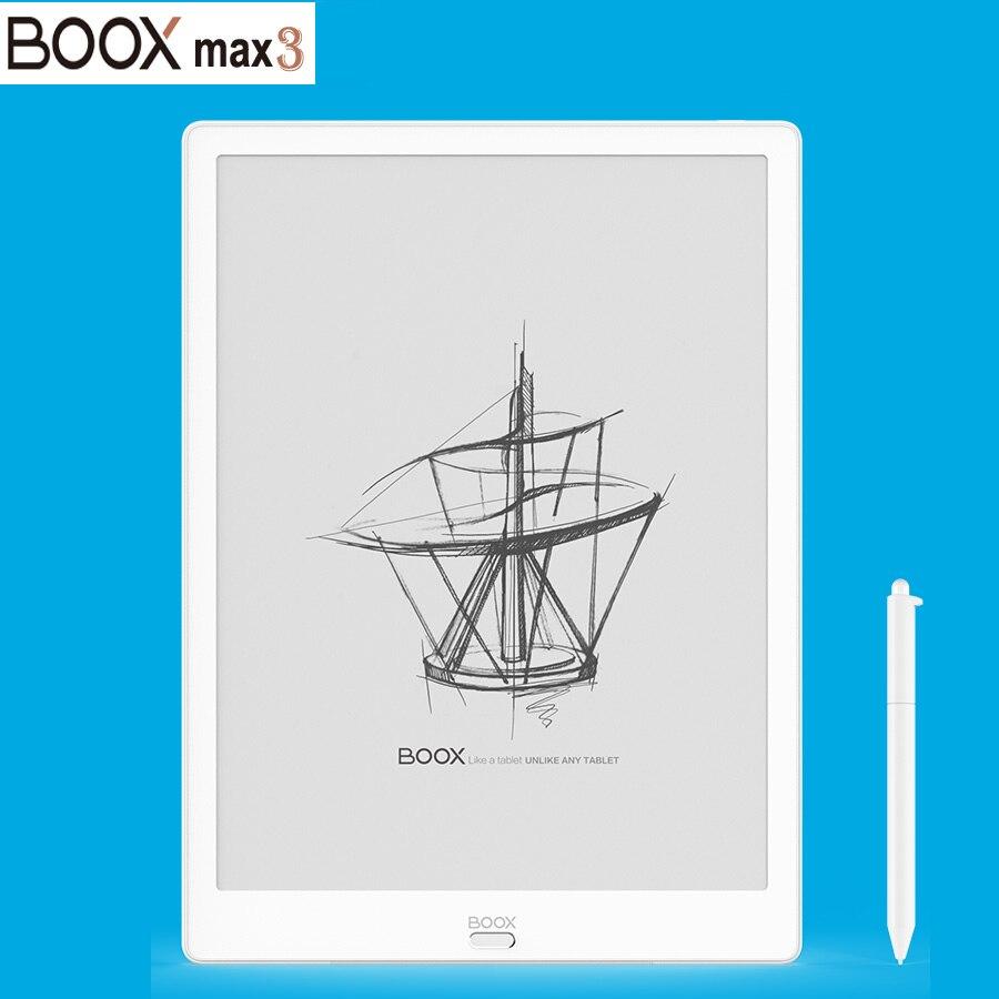 Novo modelo boox max3 e-book leitor primeiro android 9.0 13.3 polegadas e-leitor 4g/64g tipo-c (suporte otg) e-ink tablet pc