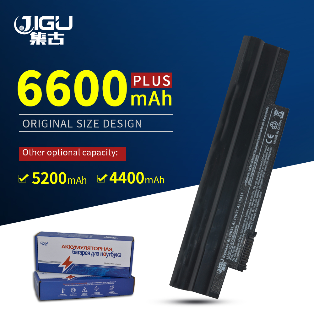 JIGU Black <font><b>Battery</b></font> For <font><b>Acer</b></font> <font><b>Aspire</b></font> <font><b>One</b></font> 522 D255 <font><b>722</b></font> AOD255 AOD260 D255E D257 D260 D270 AL10A31 AL10B31 AL10G31 image