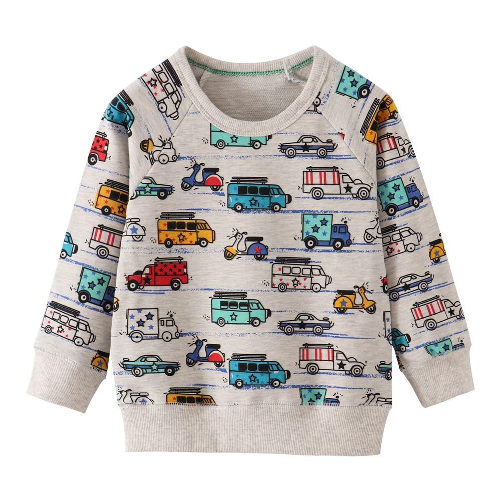 Little maven 18M-7Years Spring Autumn Tiger Toddler Kids Baby Boys Sweatshirt  Children's Little Clothing For Boy's Sweater 4