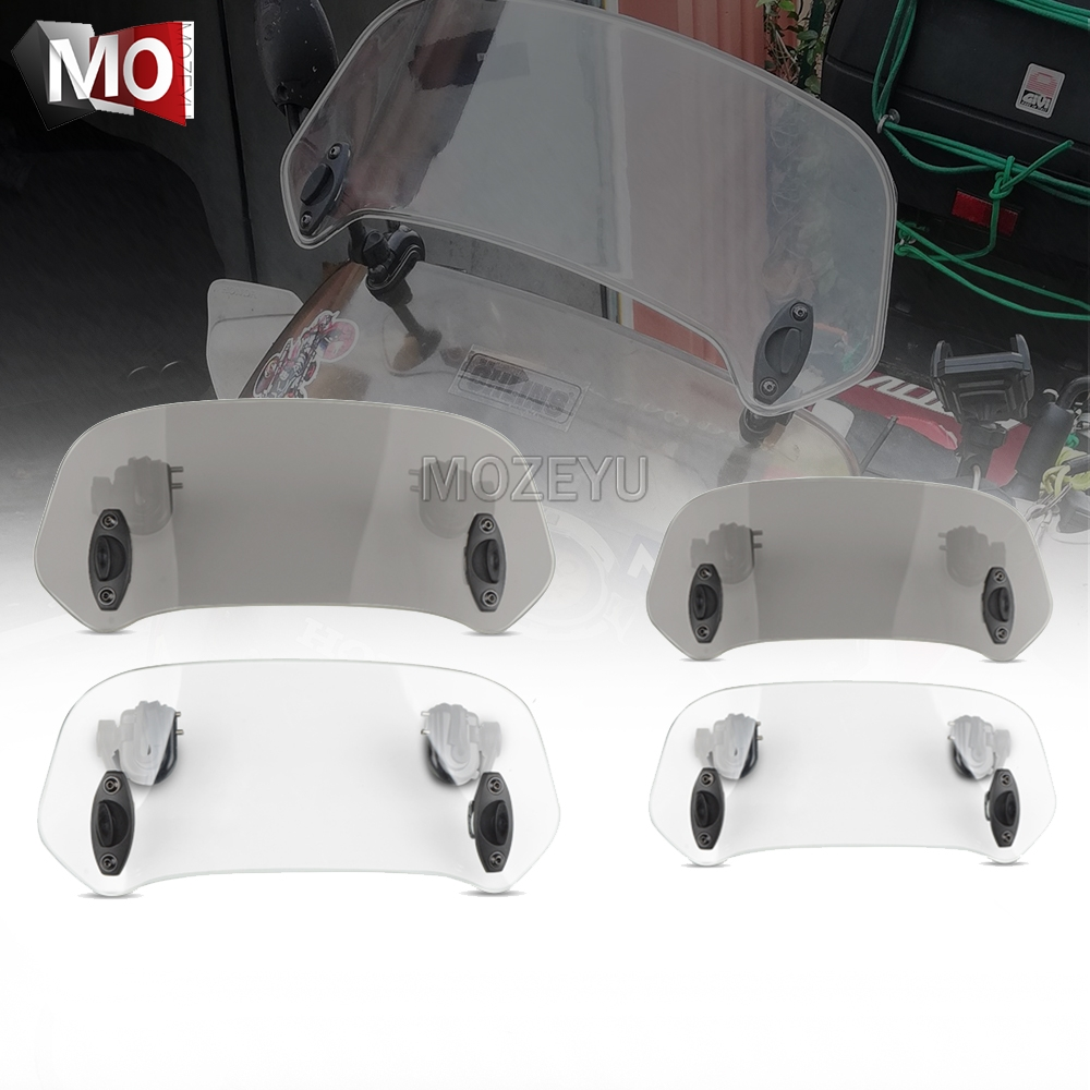 Motorcycle Windshield Extension Spoiler Windscreen Air Deflector For Suzuki HAYABUSA/GSXR 1300 125 250 <font><b>150</b></font> GSX <font><b>600</b></font> 1250 1400 image