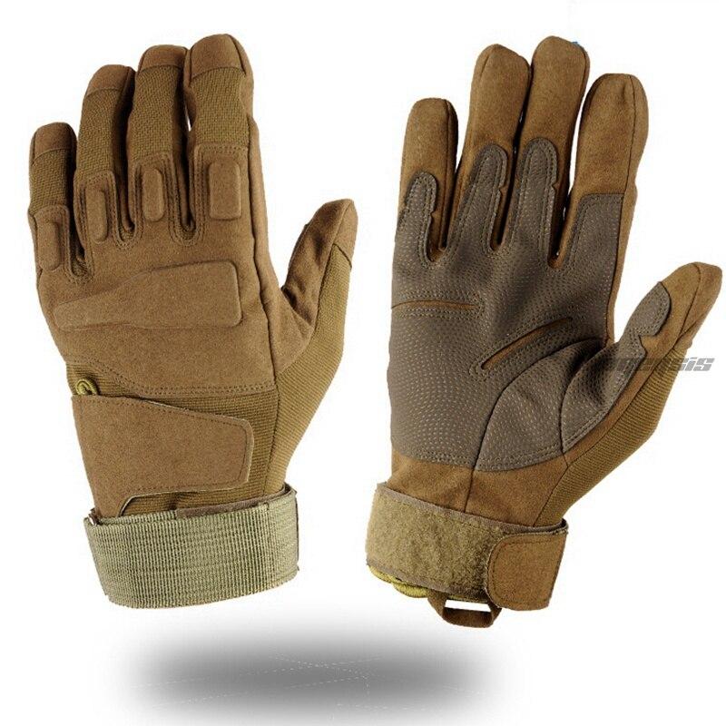 Full Half Finger Army Tactical Gloves Men Militay Shooting Non-slip Gloves Breathable Outdoor Hunting Hiking Gloves Fingerless