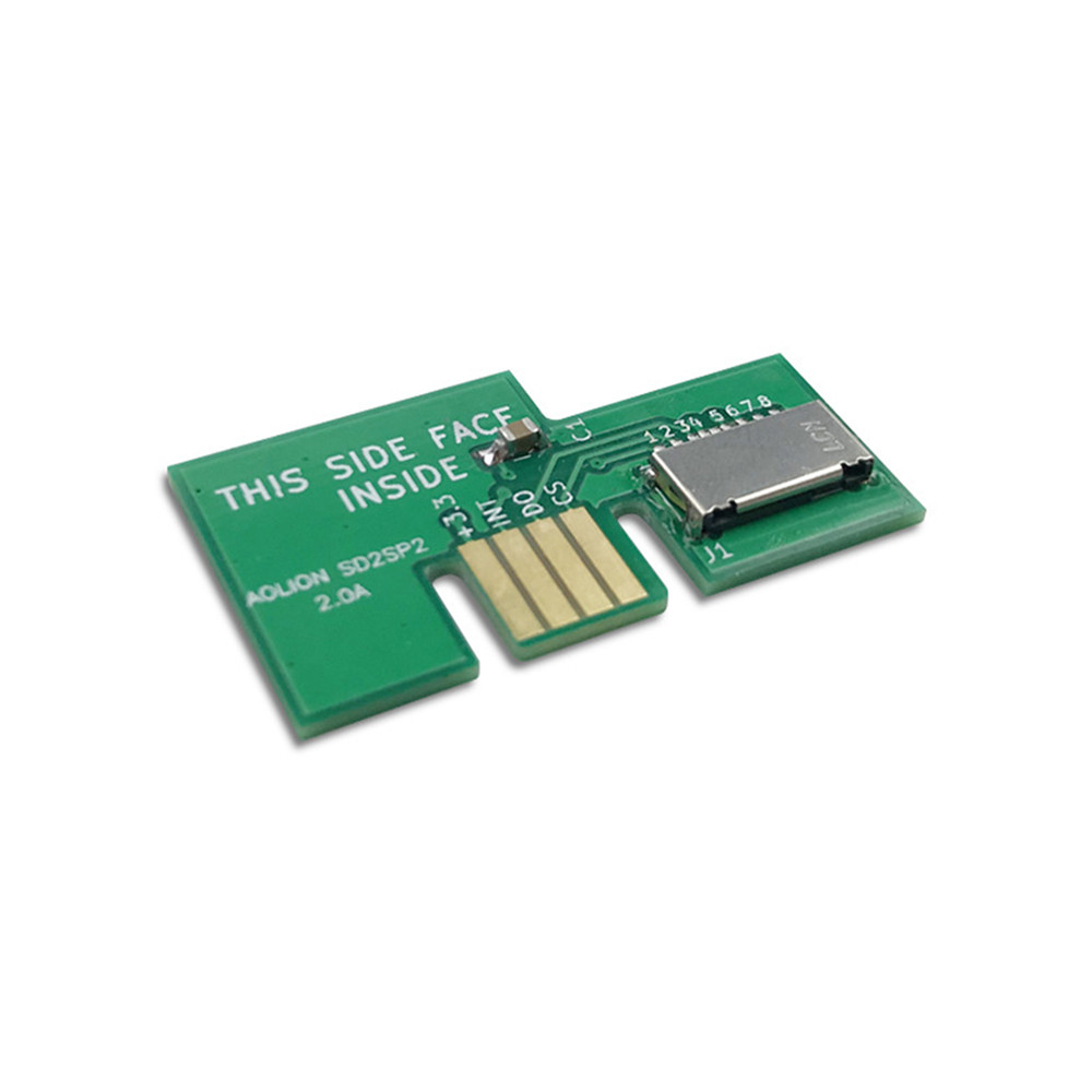 For Gamecube SD2SP2 Adapter Support Serialport 2 Nintendo NGC Replacement Micro SD Card Adapter TF Card Reader