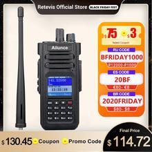 Retevis Ailunce HD1 çift bant DMR radyo dijital telsiz amatör radyo Amador VHF UHF IP67 su geçirmez GPS şifreli alıcı verici