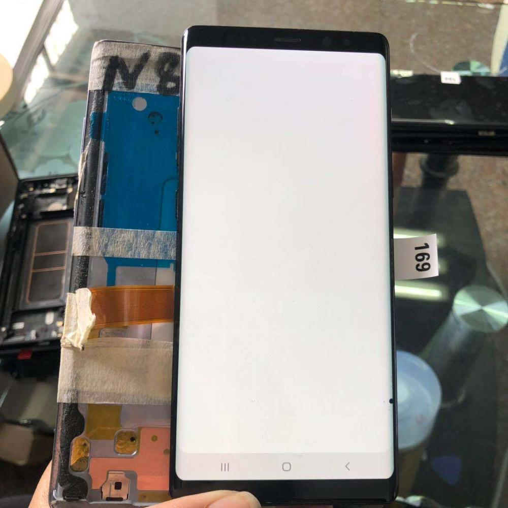 6.3 Inch With Black Spot Original Amoled LCD For Samsung Galaxy NOTE 8 N950 N950F Lcd Display + Touch Screen Digitizer Assembly