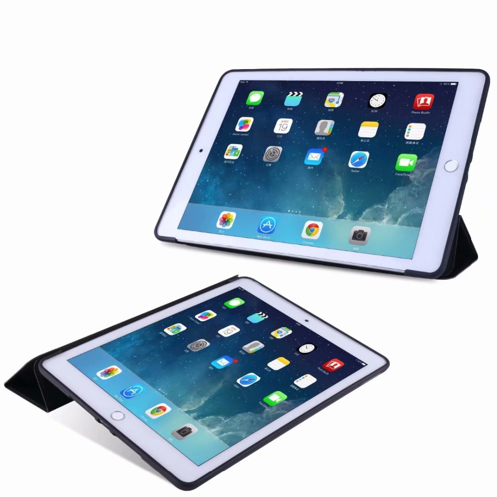 Slim iPad 2 TPU 10 Case For Tri-fold Ipad Case Smart 10.2 Soft Tablet Cover For light