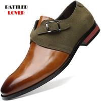 Men Leather Dress Shoes for Offical Business Casual Footwear Gentleman Wedding Party FormaL Oxfords Plus Size 38-48