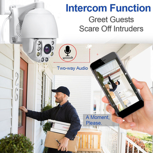 Image 2 - Mini PTZ Speed Dome IP Camera 1080P HD Outdoor Draadloze Beveiliging Wifi Camera CCTV Surveillance Waterdichte IR Nachtzicht cam