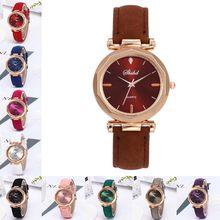 Zegarki damskie luksusowe skórzane Casual Zegarek Damski Zegarek kwarcowy gwarantowane zegary kryształowe zegarki na rękę Reloj Mujer Zegarek Damski