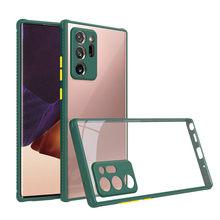 10 Stks/partij Arylic Siliconen Telefoon Geval Voor Samsung Galaxy A51 A71 5G A70S A50S A30S A20S A10S A01 M01 m21 M30S Soft Cover