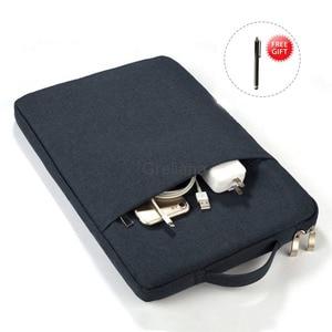 "Image 1 - Handbag Sleeve Case For Samsung Galaxy Tab S6 10.5 SM T860 T865 Pouch Bag Cover For Galaxy Tab S6 Lite 10.4 "" SM P610 P615 Capa"