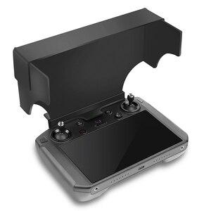 Image 2 - שלט רחוק עם מסך שמש צל נייד מתקפל נגד בוהק עבור שמש הוד dji mavic 2 פרו & זום drone אבזרים