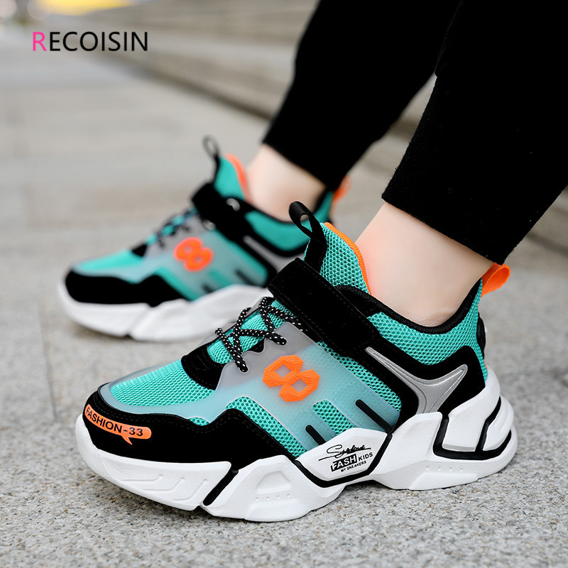 RECOISIN  Autumn Sneakers Kids Shoes High Quality Casual Children Sports Shoes for Boys Chunky Sneakers Boys chaussure enfant Sneakers    - AliExpress