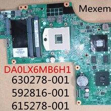 630278-001 592816-001 615278-001 аккумулятор большой емкости для HP DV6-3000 Материнская плата ноутбука DA0LX6MB6H1 HD5650 1 гб поддержка I7 только в том случае,
