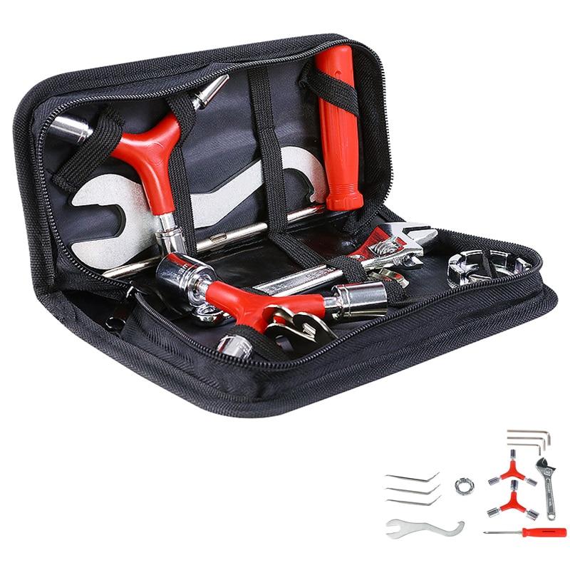 Bicycle Repair Tools Mountain Bike Tool Accessories Daquan Repair Kit Flywheel Disassembly Maintenance Spoke Wrench Tire lever