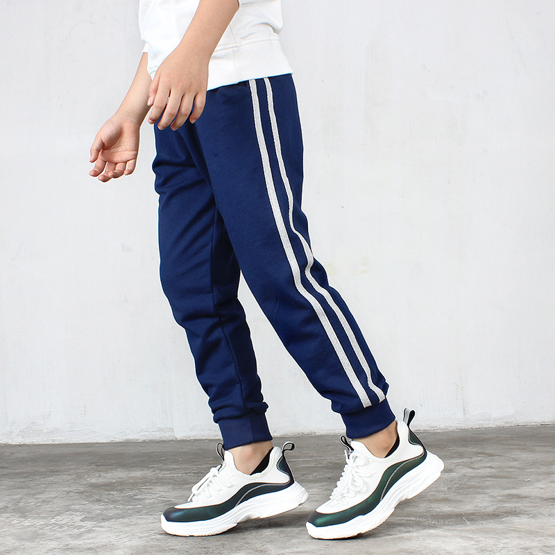 Children Boys Pants 2020 Spring/Autumn Kids Sports Causal Trousers Pants For Teens Boys Girls 6 8 10 12 14 Years Wear TX022