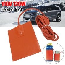 Portable Car Truck Engine Heater Oil Pan Tank Heater 120W 110V Pad Heater Orange стоимость